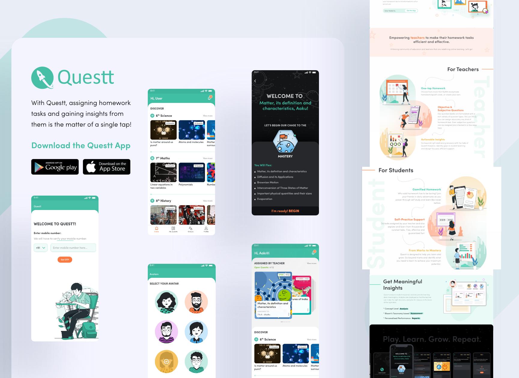 Questt App - Student Login