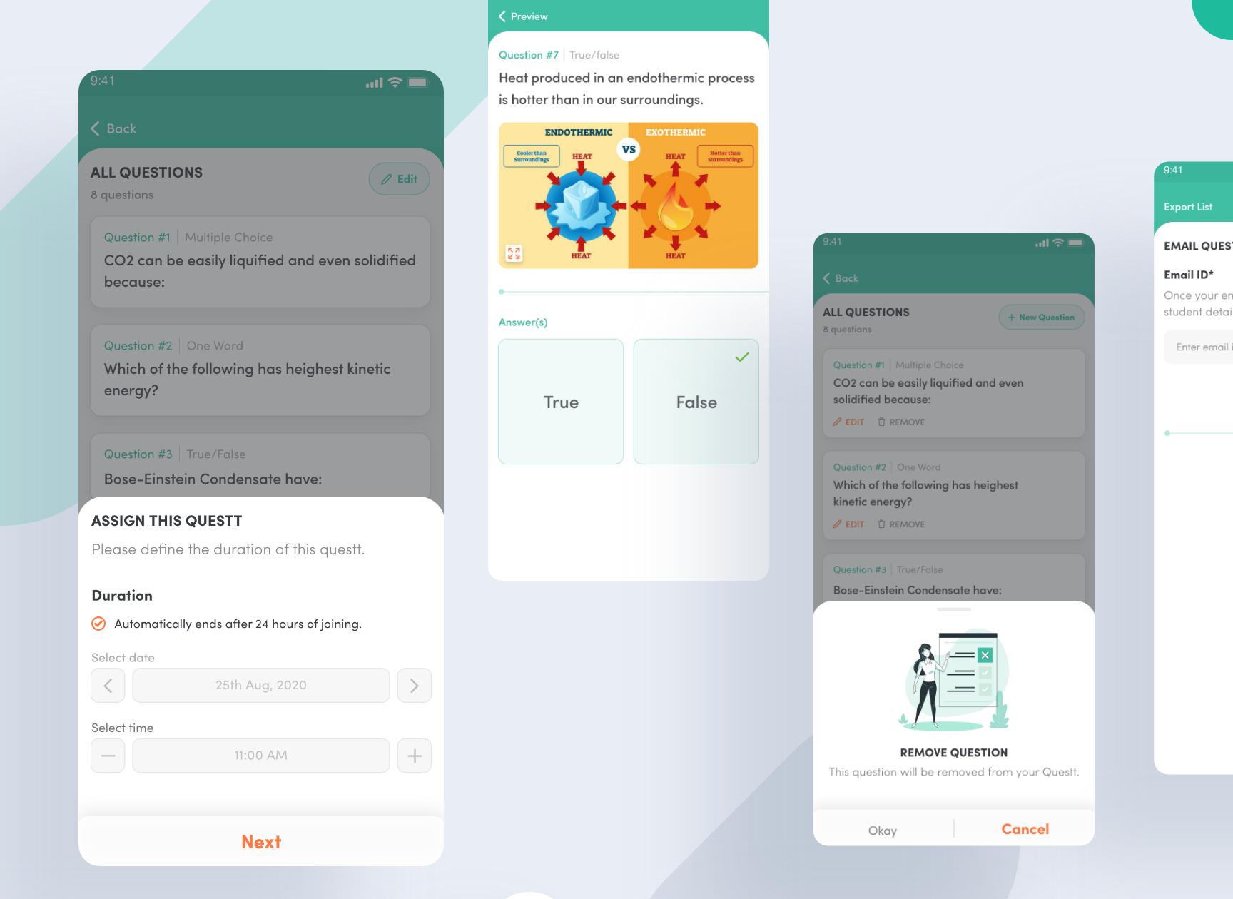 Questt App - Teacher Login